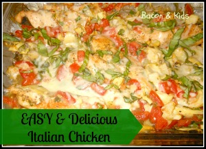 Delicious Italian Chicken